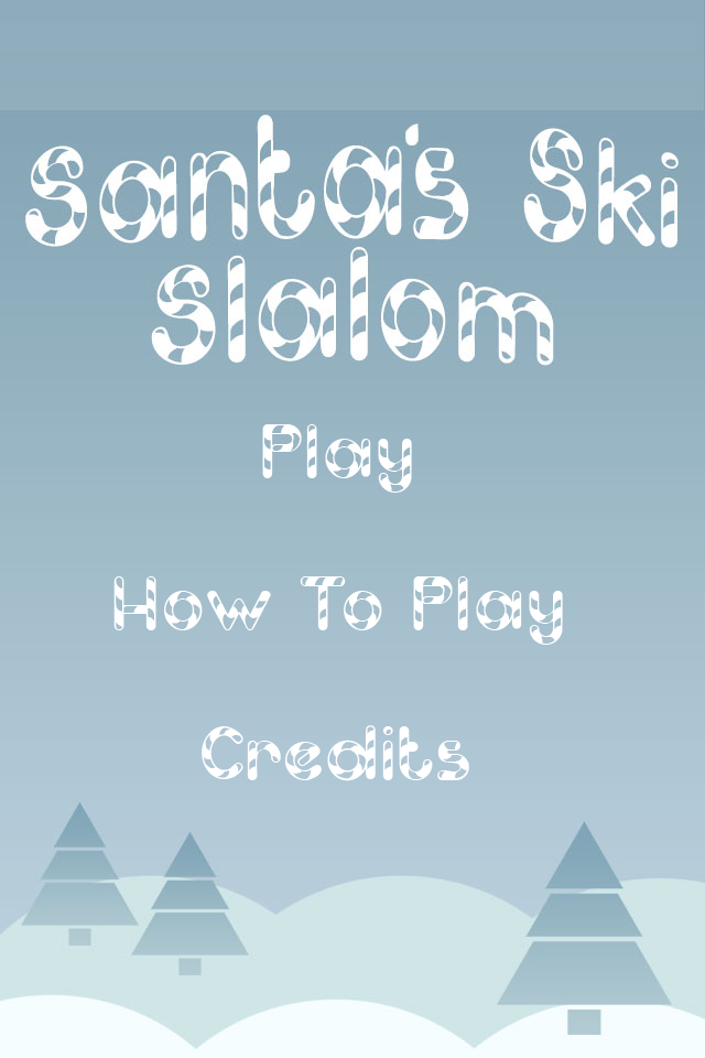 Screenshot Santa's Skii Slalom